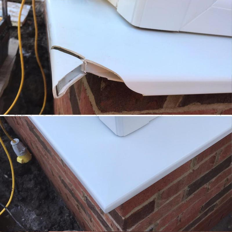 window frame repairs Bradford