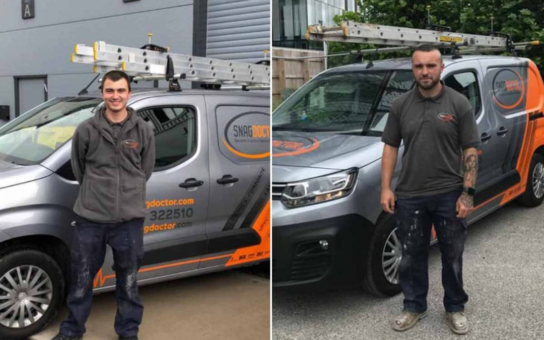 Welcome to our new technicians
